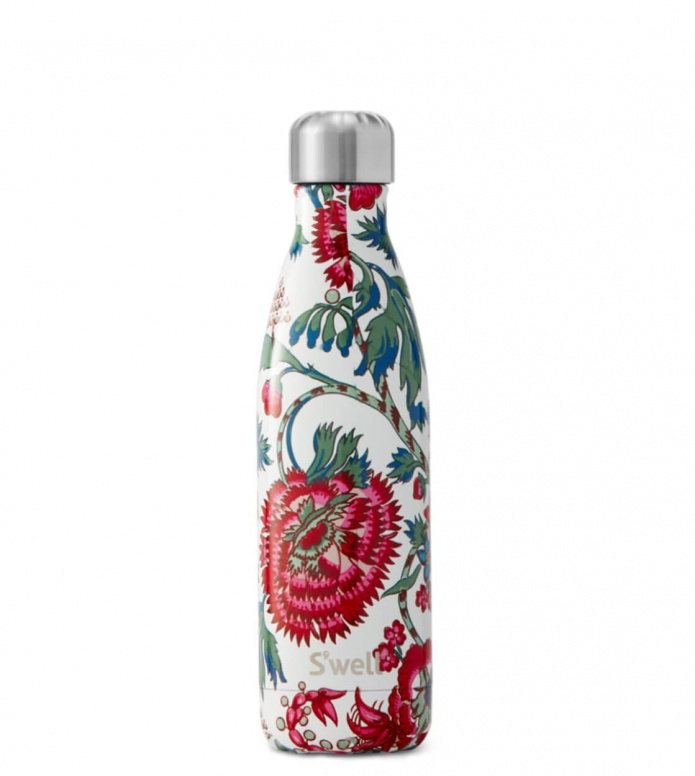 Swell Swell Water Bottle MD white suzani