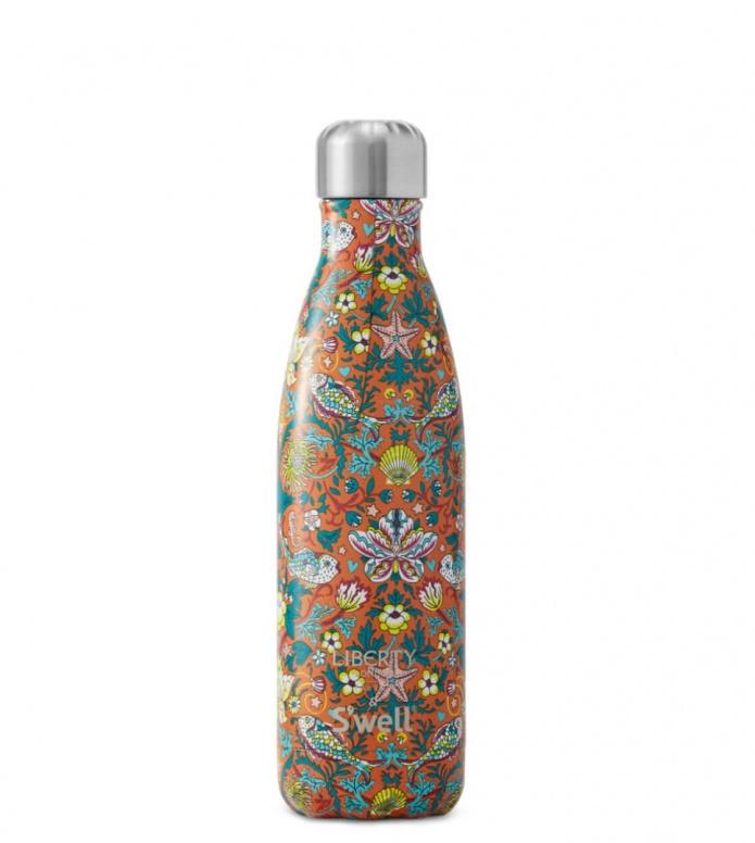 Swell Swell Water Bottle MD orange morris reef