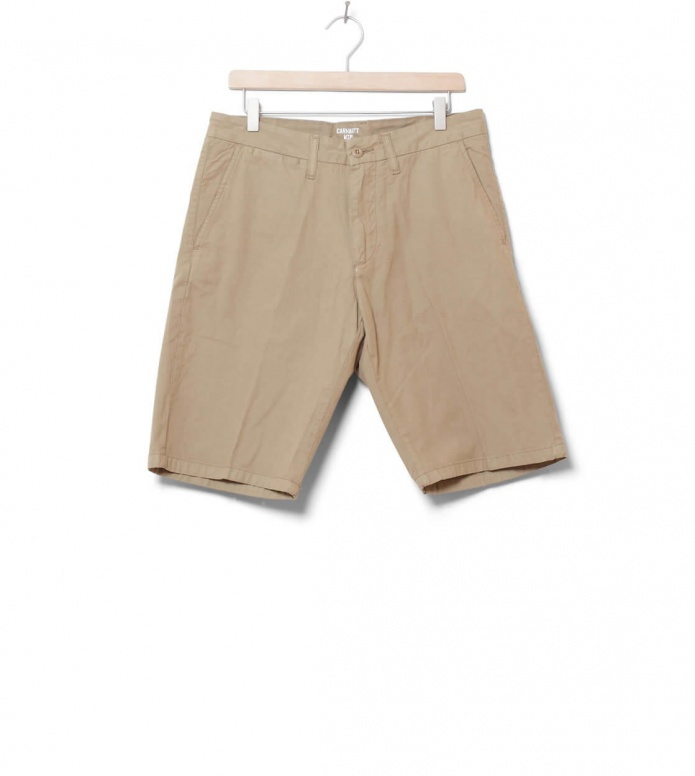 Carhartt WIP Shorts Johnson Midvale beige leather 30