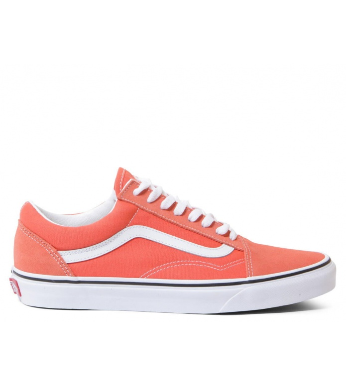 Vans Shoes Old Skool orange emberglowtrue white
