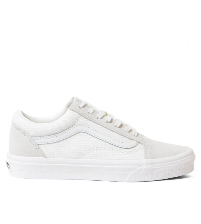 Vans W Shoes Old Skool Woven Check white marshmallowsnow white