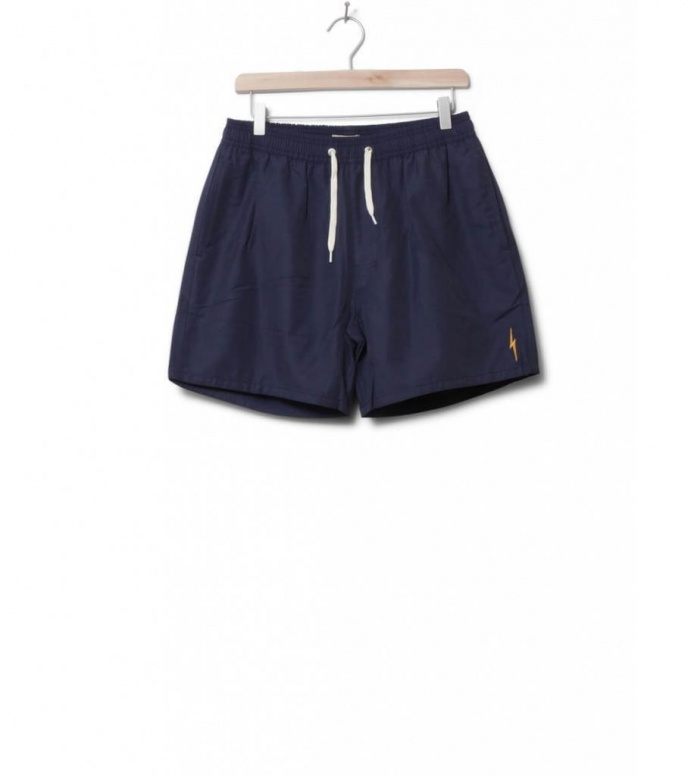 Lightning Bolt Shorts Plain Turtle blue mood indigo 28