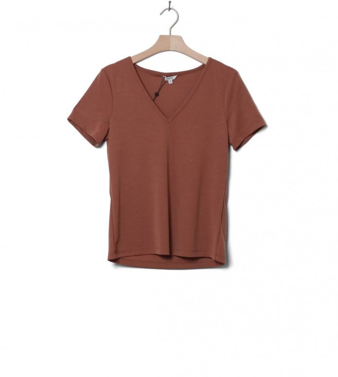 MbyM W T-Shirt Queenie brown golden oak M