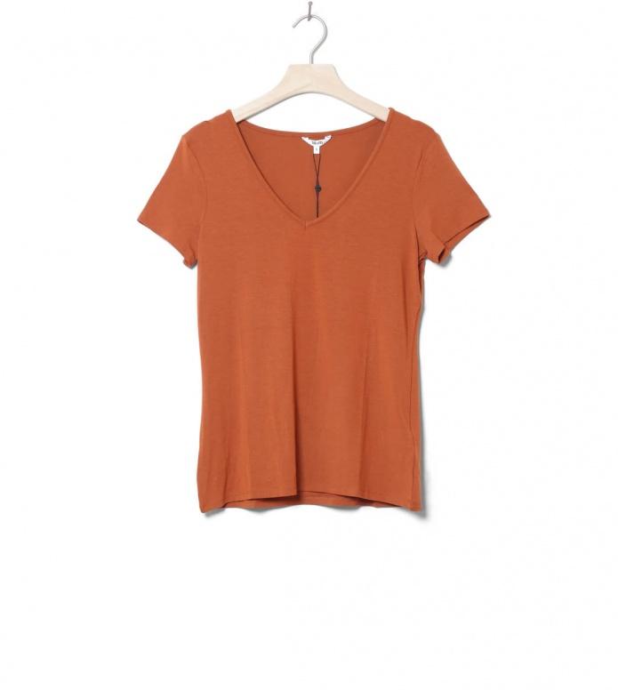MbyM W T-Shirt Queenie brown mahagony S