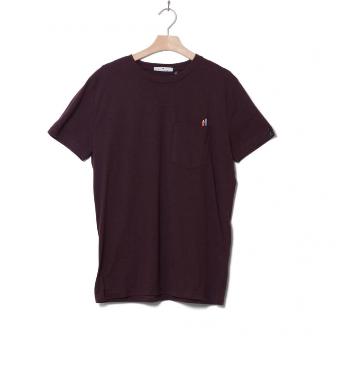 Revolution (RVLT) Revolution T-Shirt 1137 Cra red bordeaux