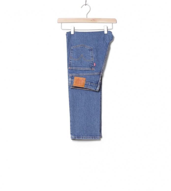 Levis W Jeans 501 Crop blue jive stonewash 26/28
