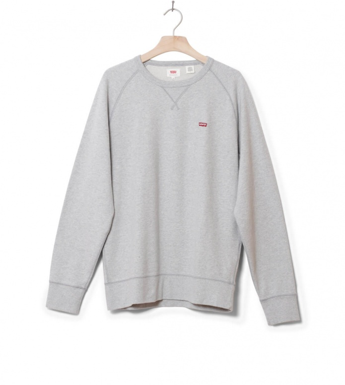 Levis Sweater Original Hm Icon Crew grey medium heather S