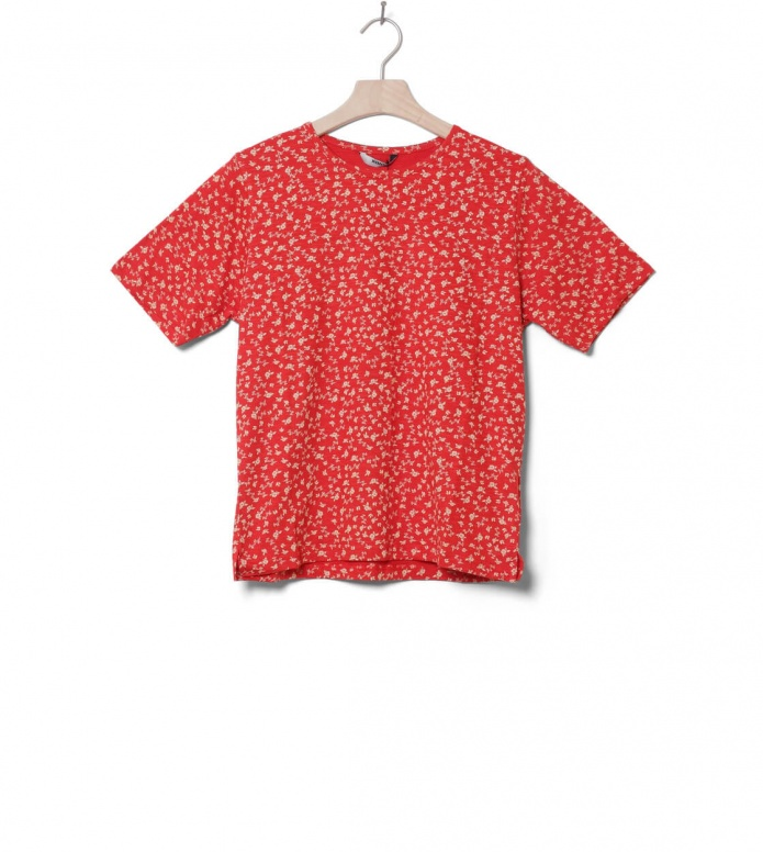 Wemoto W T-Shirt Holden Printed red-off white M