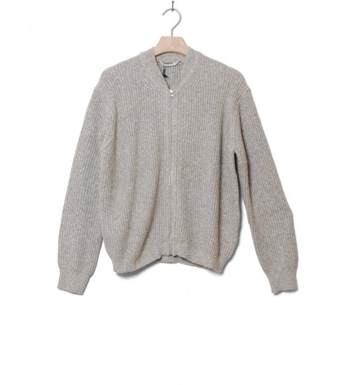 Wemoto W Zip Sweater Draper grey melange XS