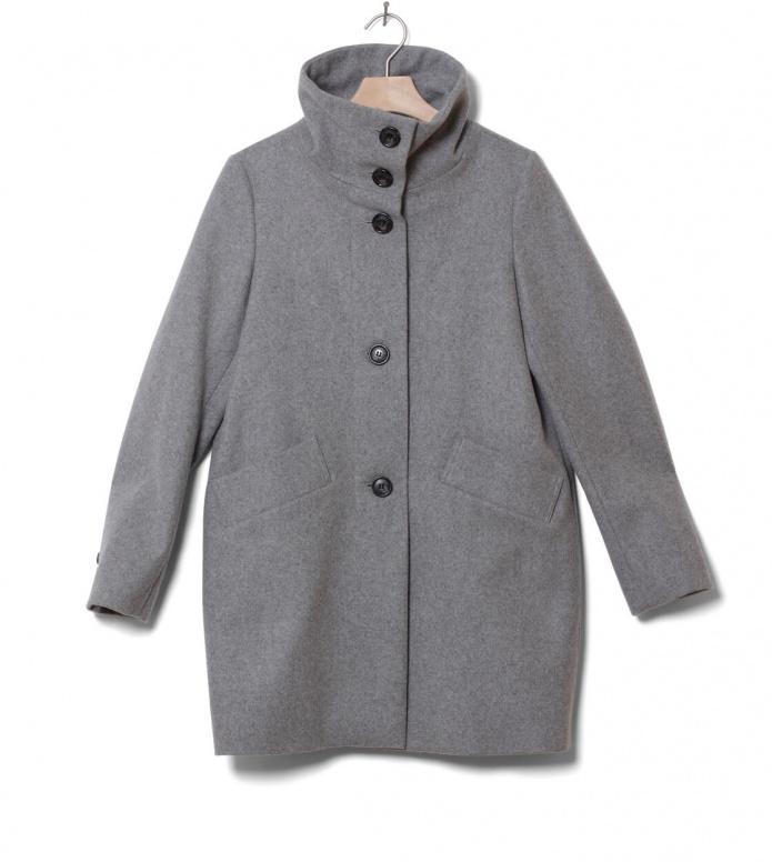 Sessun Sessun W Coat Chera grey cloud