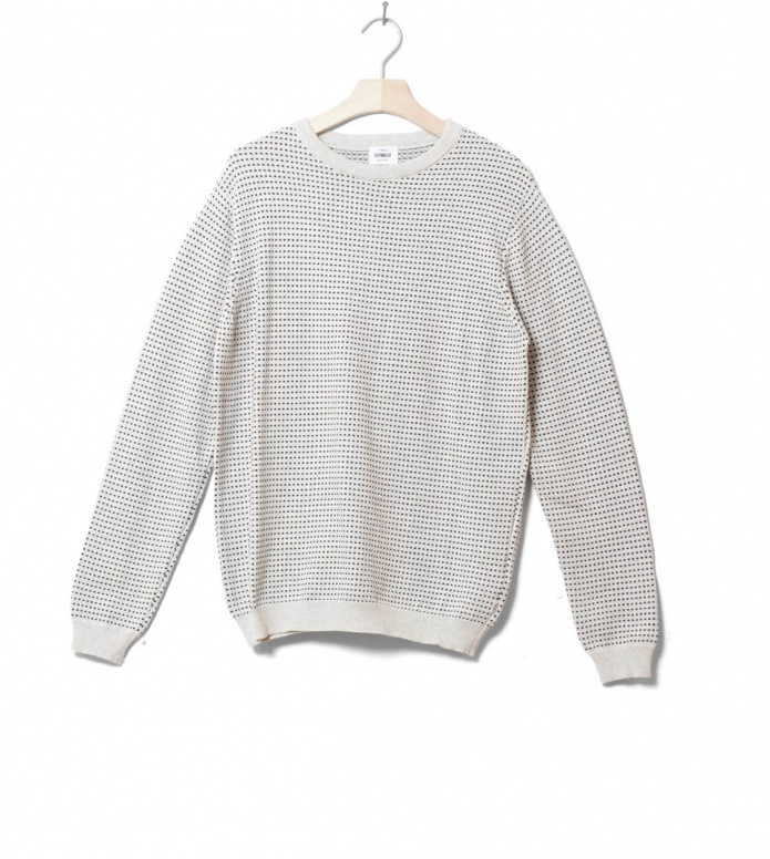 Klitmoller Knit Otto white cream/navy S