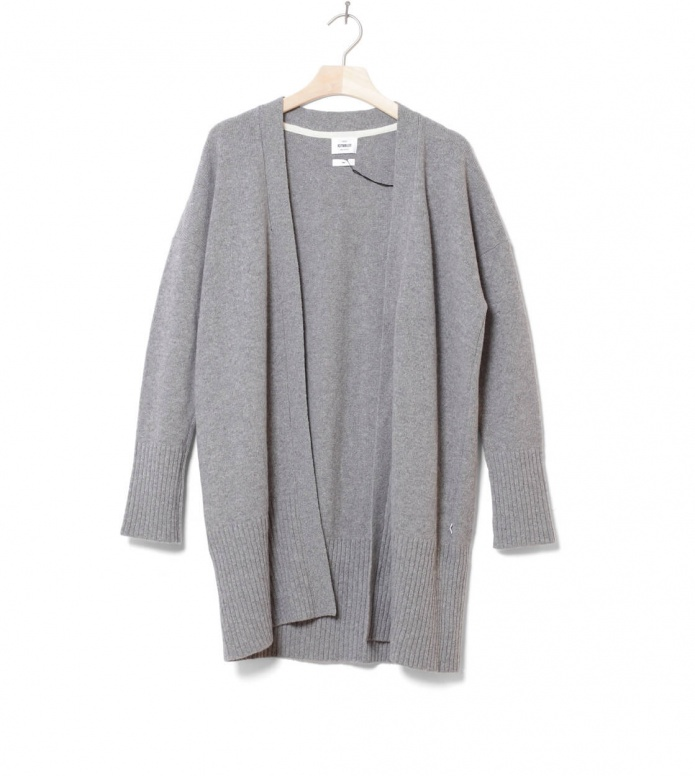 Klitmoller W Cardigan Rosemarie grey light XS