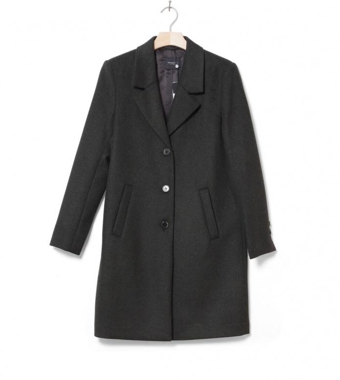 Selected Femme Coat SLlfsasja green rosin melange