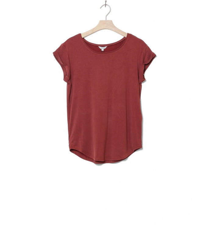 MbyM W T-Shirt Nisha Rai red fired brick S