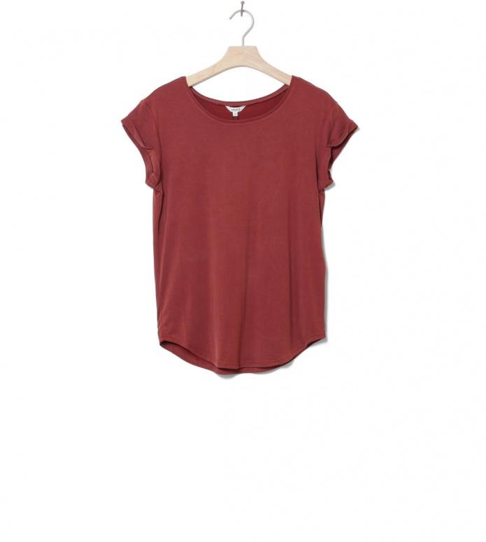MbyM W T-Shirt Nisha Rai red fired brick L