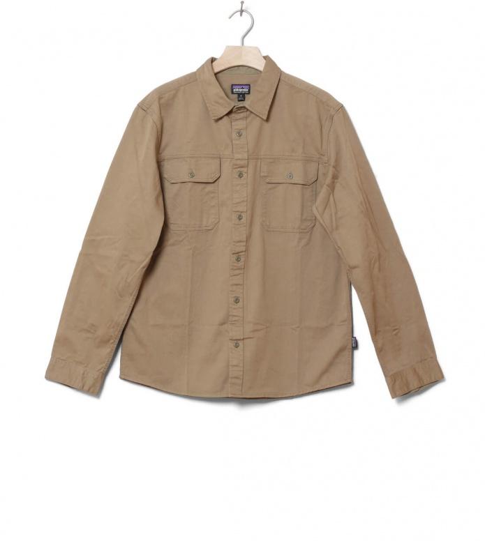 Patagonia Patagonia Shirt Four Canyons Twill beige mojave khaki
