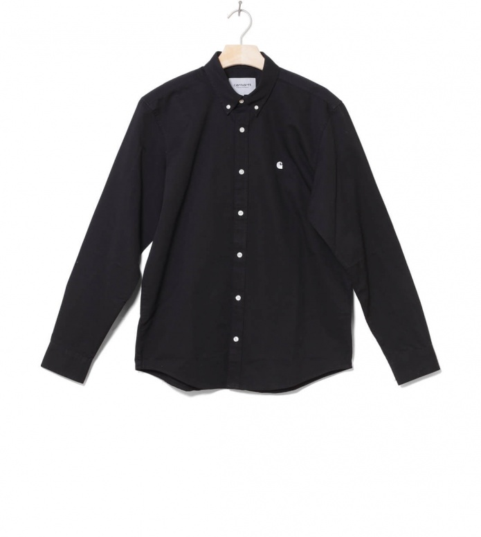 Carhartt WIP Shirt Madison black/white S