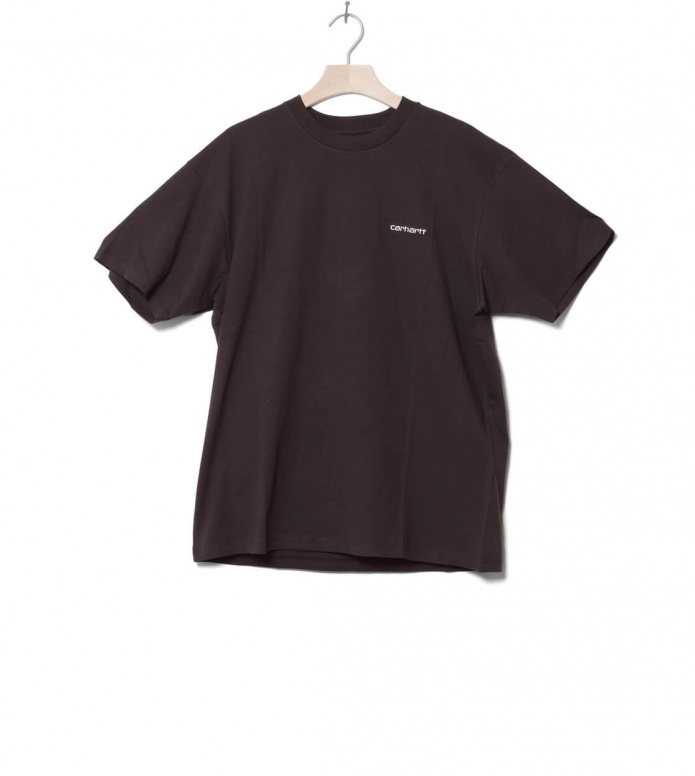 Carhartt WIP T-Shirt Embroidery brown tobacco L