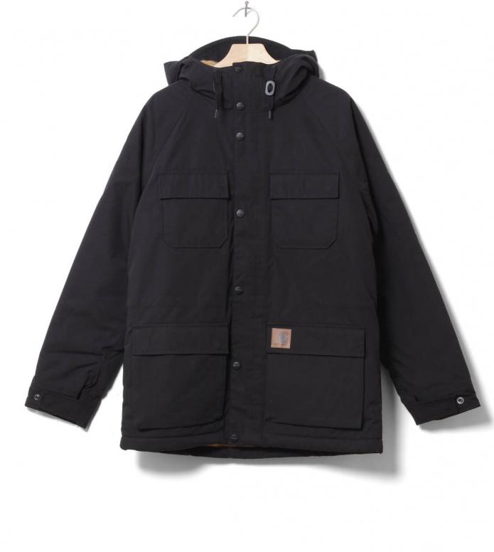 Carhartt WIP Winterjacket Mentley black