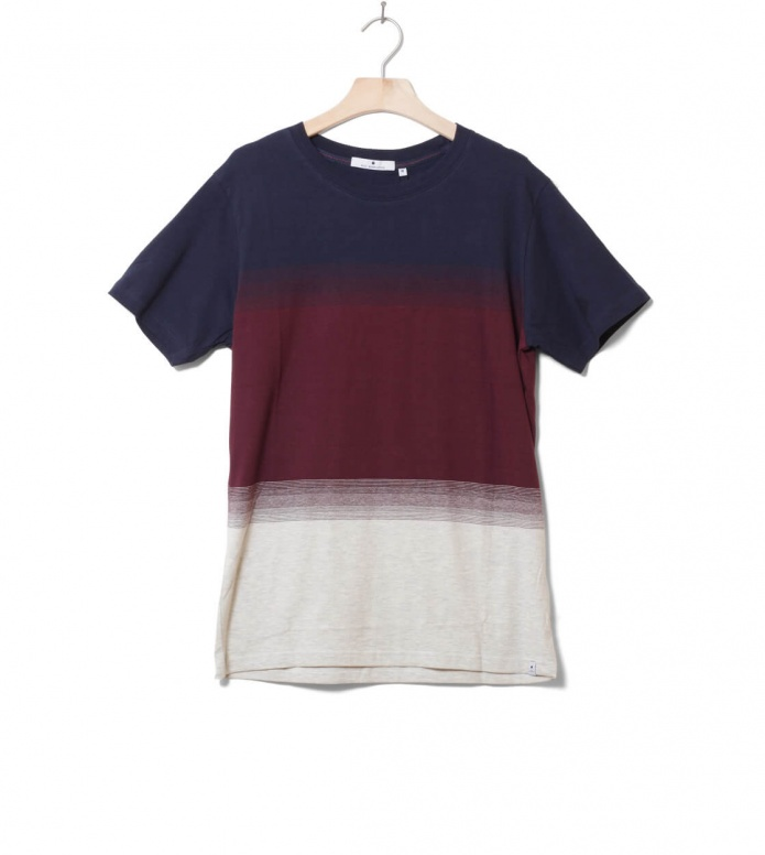 Revolution (RVLT) Revolution T-Shirt 1145 Striped blue navy
