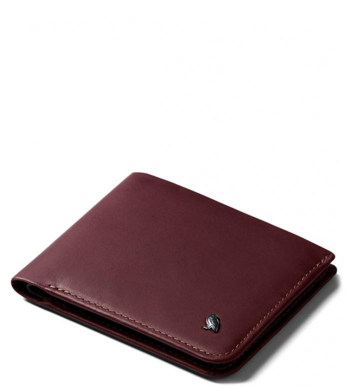 Bellroy Wallet Hide & Seek LO RFID red wine one size