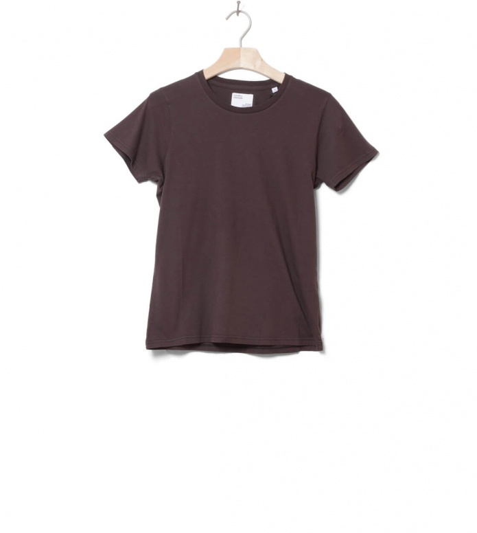 Colorful Standard Colorful Standard W T-Shirt CS 2051 brown coffee