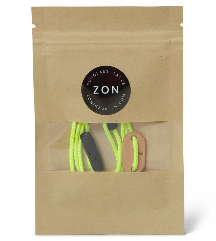 Zon ZON Sunglass Laces Slim yellow neon