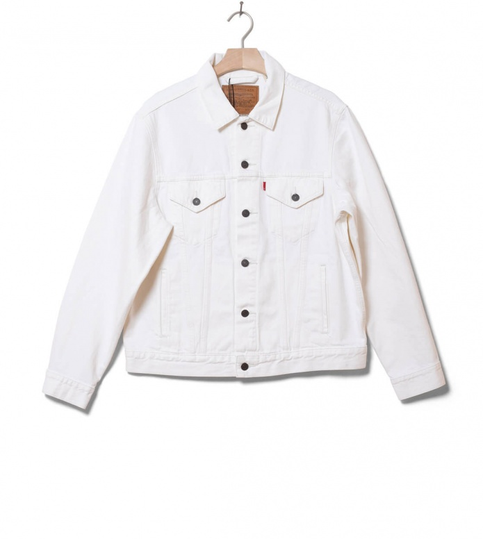 Levis Levis Denimjacket Vintage Fit Trucker white out trucker
