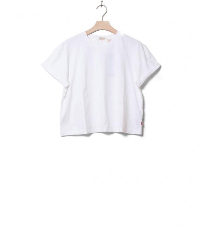 Levis W T-Shirt Veronica white XS