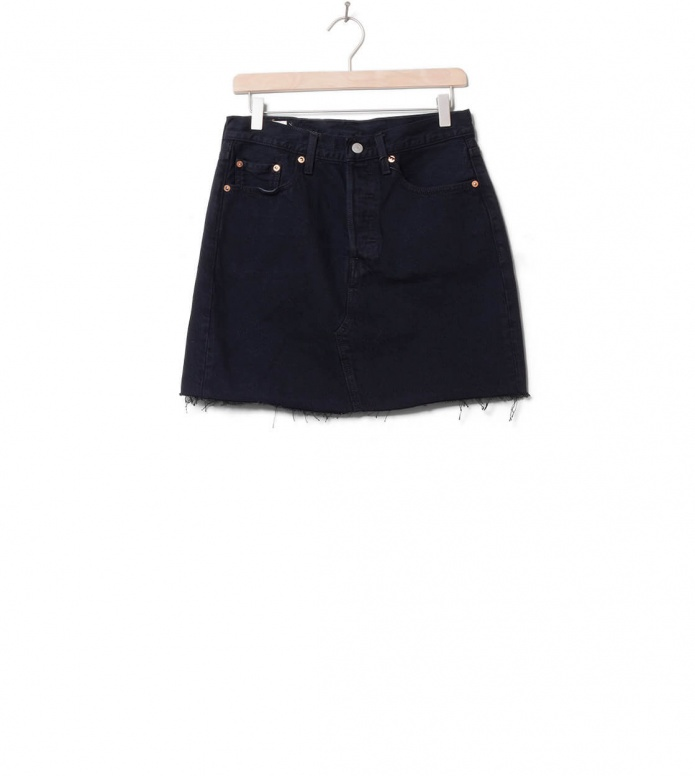 Levis W Skirt High-Rise Deconstructed black left behind 25