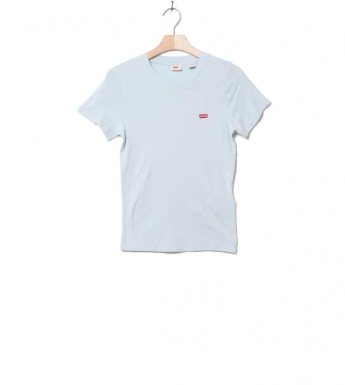 Levis W T-Shirt Rib Baby blue baby XS