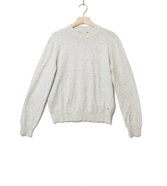Wemoto W Pullover Maxine beige off white nep M