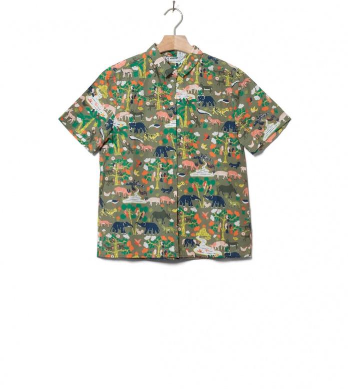 Wemoto Wemoto W Shirt Math green olive