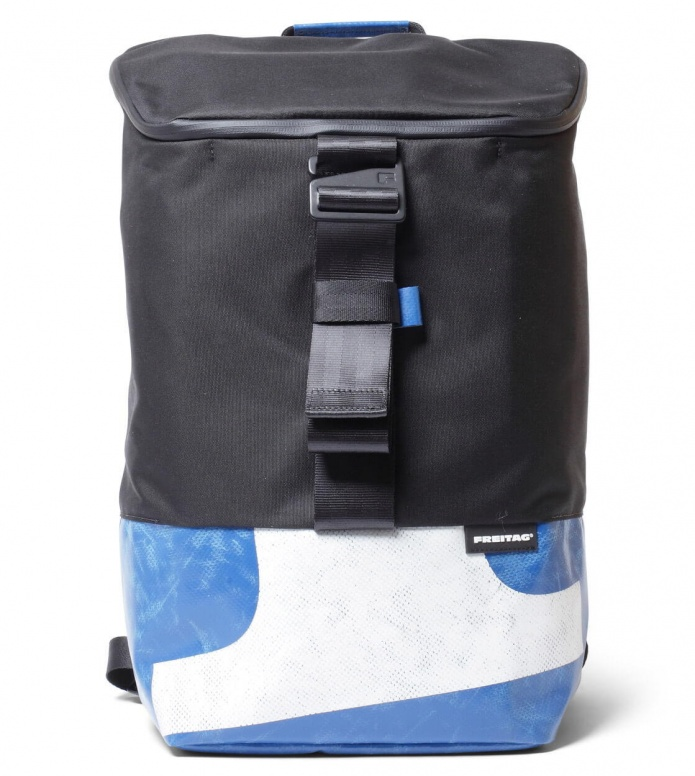 Freitag Freitag ToP Backpack Carter black/blue/white