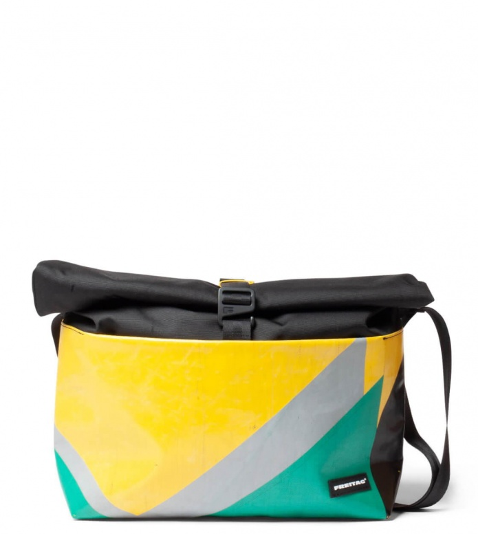Freitag Freitag ToP Bag Rollin yellow/green/grey
