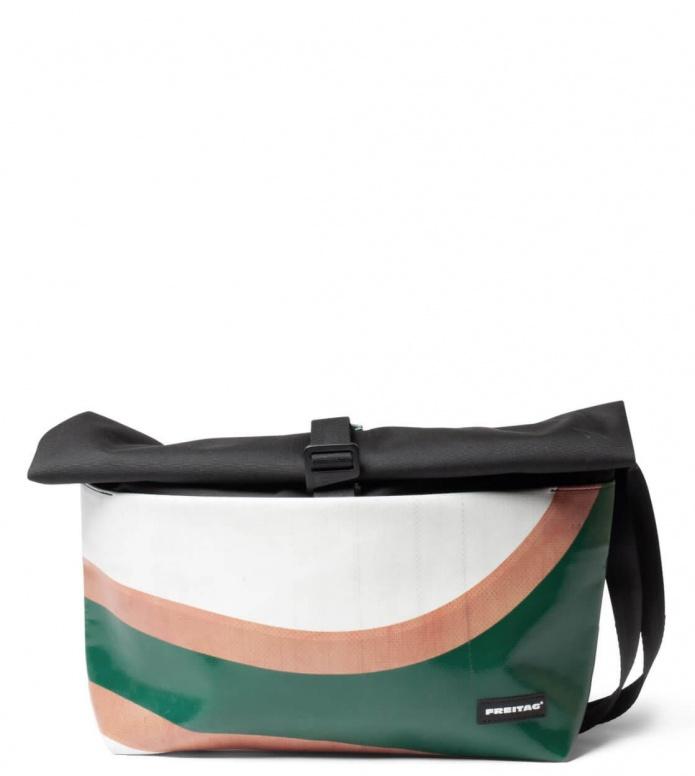 Freitag Freitag ToP Bag Rollin black/green/orange/white