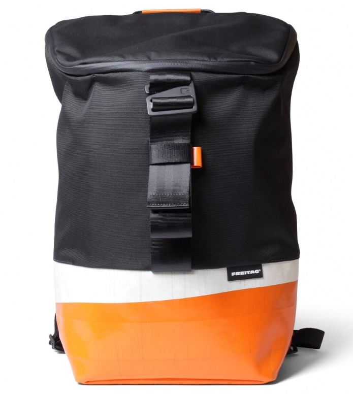 Freitag Freitag ToP Backpack Carter black/orange/white