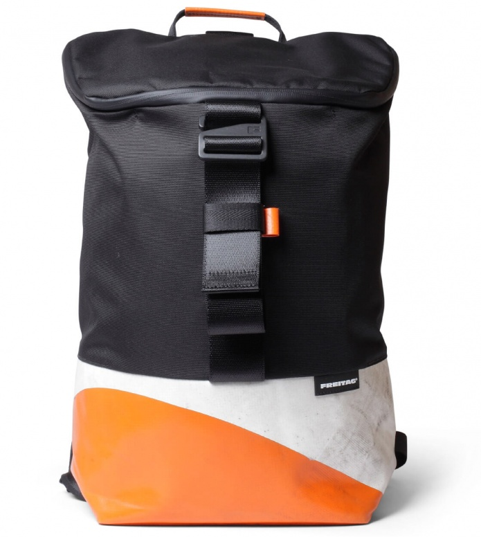 Freitag Freitag ToP Backpack Carter white/orange