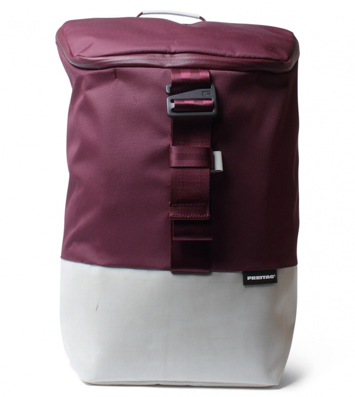 Freitag Freitag ToP Backpack Carter red marsale/grey