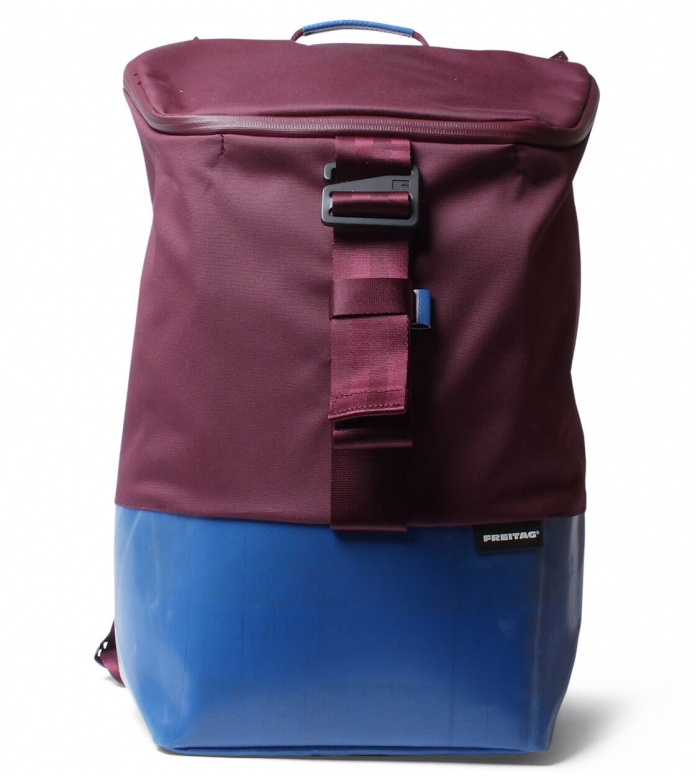Freitag Freitag ToP Backpack Carter red marsala/blue