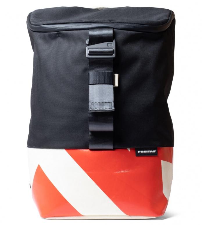 Freitag Freitag ToP Backpack Carter black/red/white