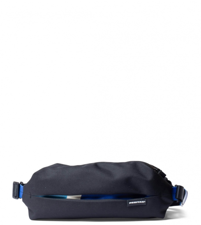 Freitag Freitag ToP Hip Bag Phelps black/blue/white