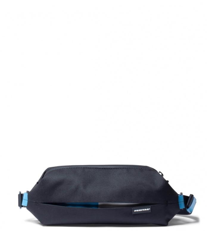 Freitag Freitag ToP Hip Bag Phelps black/blue/white