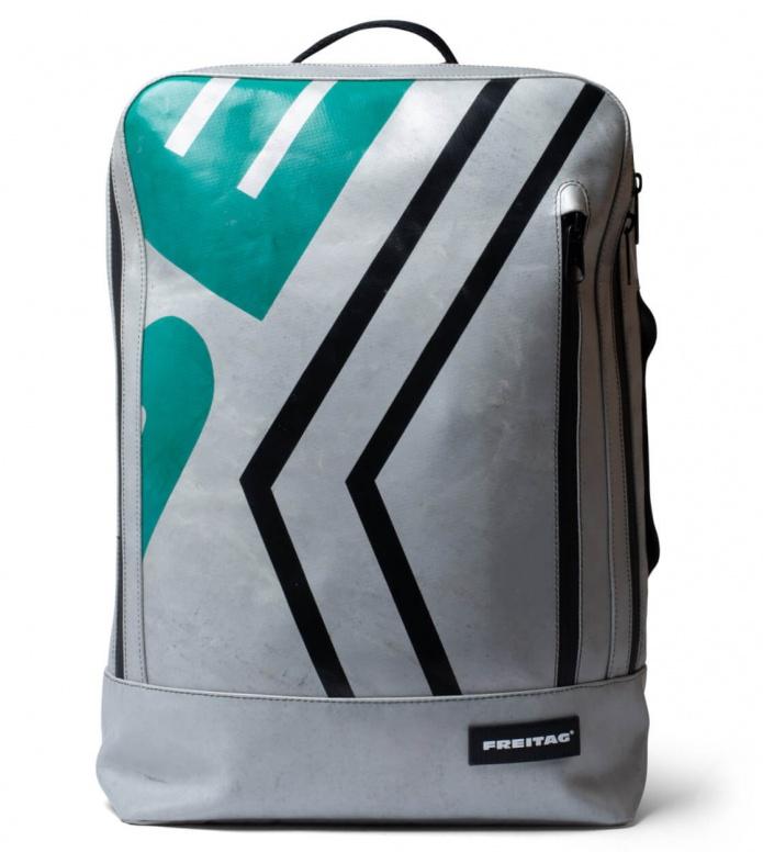 Freitag Freitag Backpack Hazzard silver/green/black