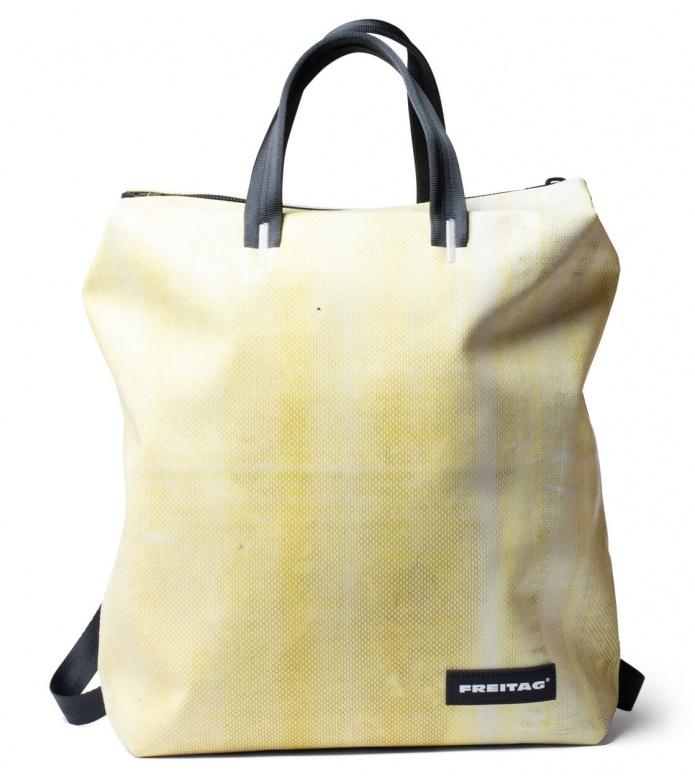 Freitag Freitag Backpack Pete yellow/white