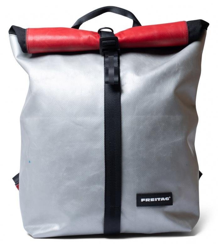 Freitag Freitag Backpack Clapton silver/red