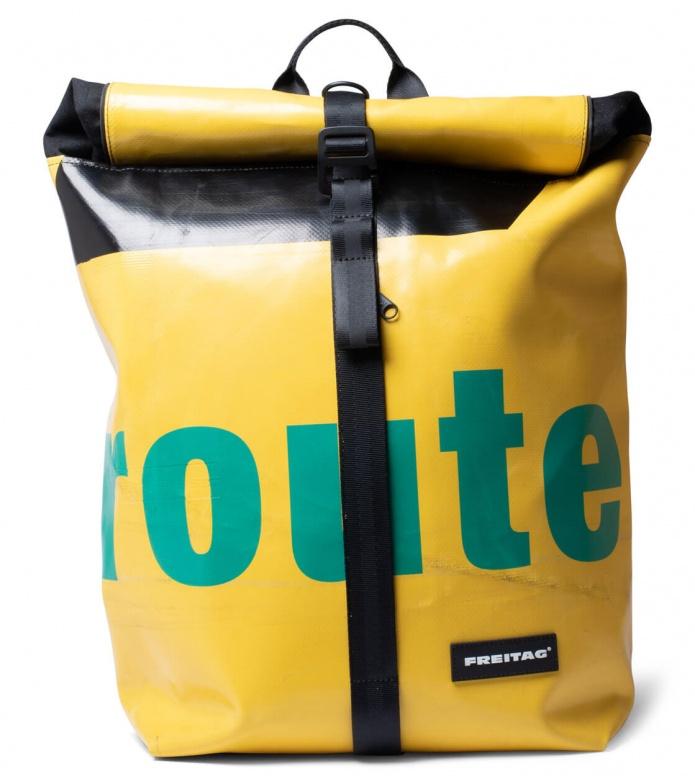 Freitag Freitag Backpack Clapton yellow/green/black