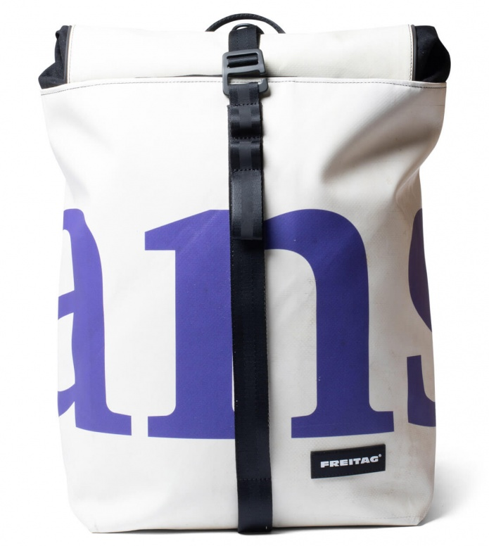 Freitag Freitag Backpack Clapton white/purple