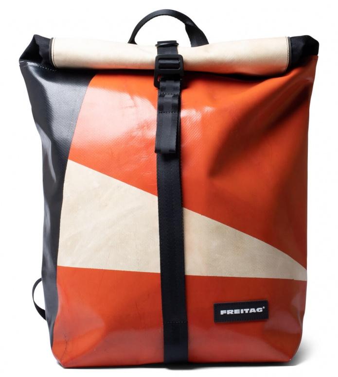 Freitag Freitag Backpack Clapton orange/beige/black