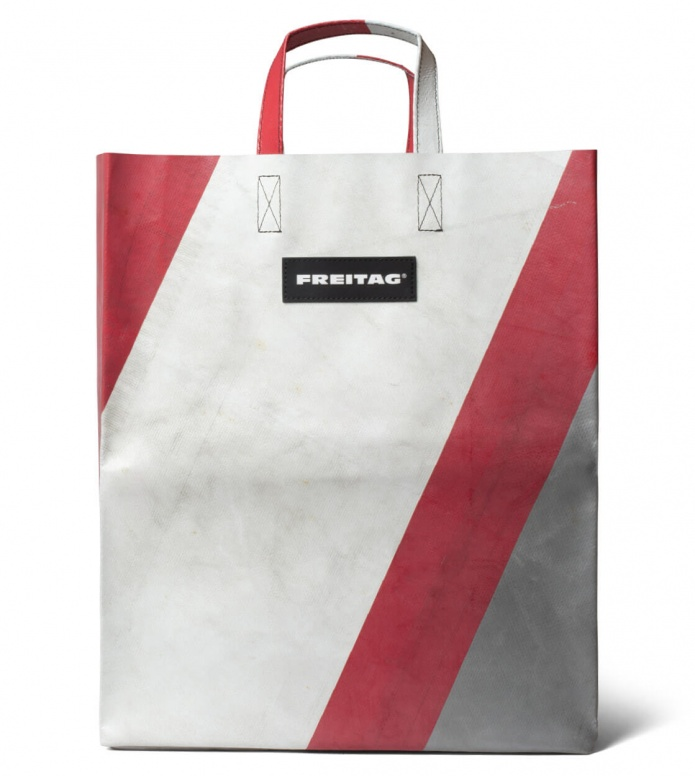 Freitag Freitag Bag Miami Vice white/red/silver